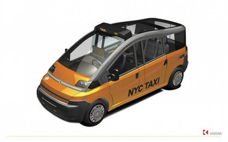 Karsan NYC taxi