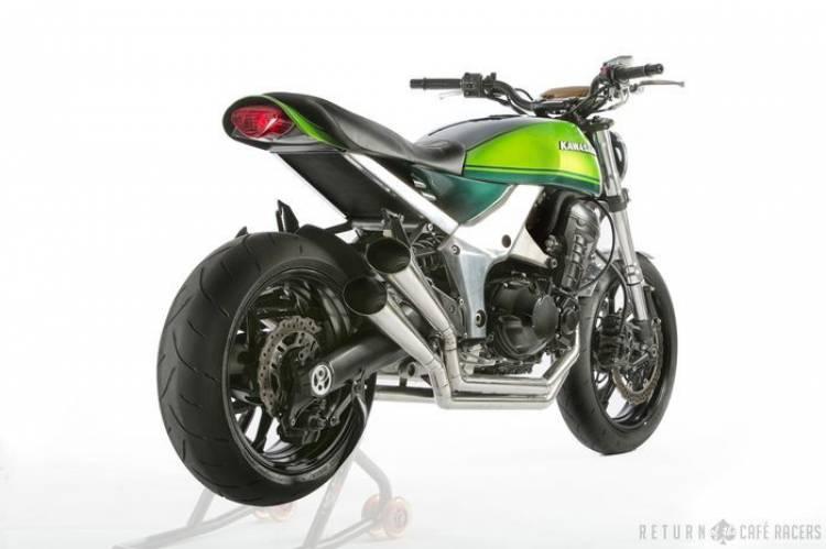 Kawasaki Z1000 40th Anniversary Concept, músculo moderno y estilo clásico