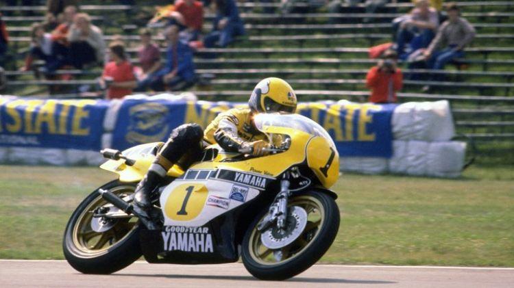 Kenny Roberts In 1980 Op ZN Yamaha Rechten Anp