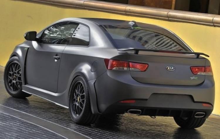 Kia Forte Koup Type R Concept en el SEMA
