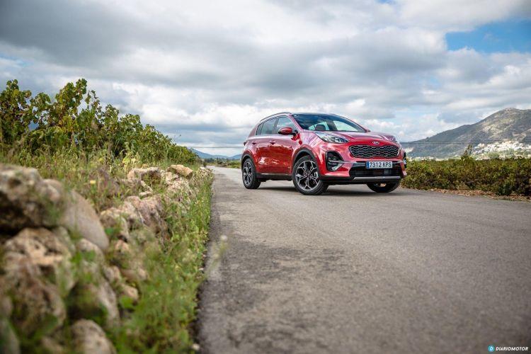 Kia Sportage Diesel Etiqueta Eco Abril 2020 Frontal Rojo
