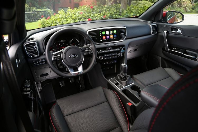 Kia Sportage Diesel Etiqueta Eco Abril 2020 Interior