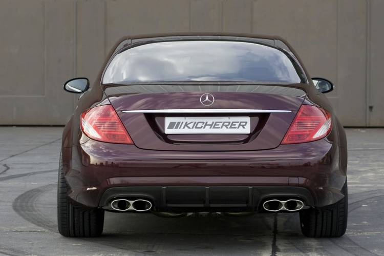 Kicherer Mercedes CL 65 Coupé