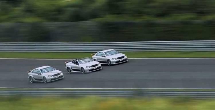 Kit Dotcom, Finn Batato y Kimi Räikkönen en Núrburgring