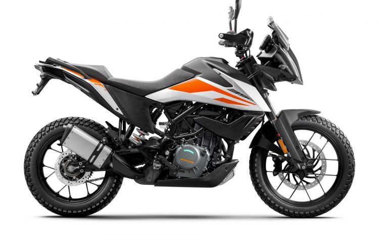 Ktm 390 Adventure My20 White Right