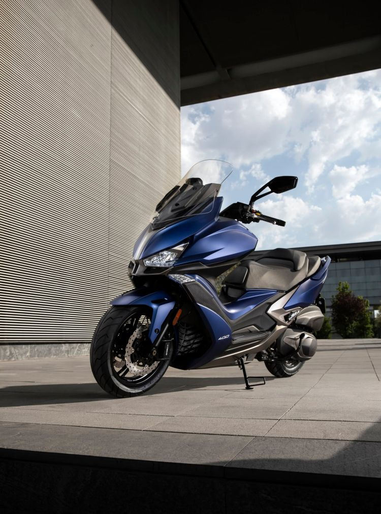 Kymco Xciting S 400 Ambiente Azul 10 80922