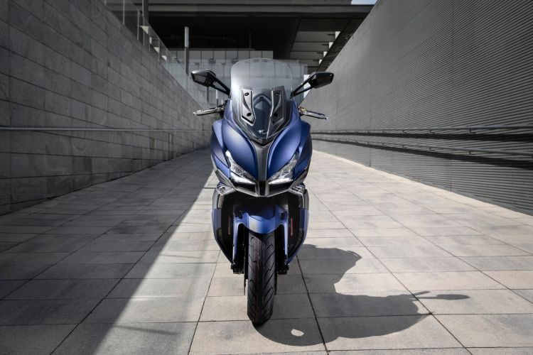 Kymco Xciting S 400 Ambiente Azul 3 62248