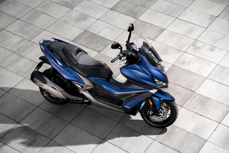 Kymco Xciting S 400 Ambiente Azul 9 53299