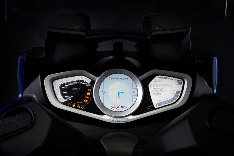 Kymco Xciting S 400 Detalle Azul 1 13619