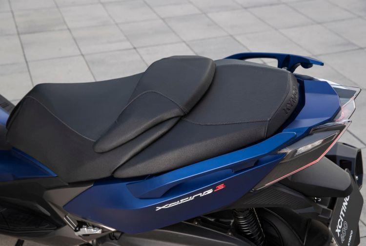 Kymco Xciting S 400 Detalle Azul 26 30580
