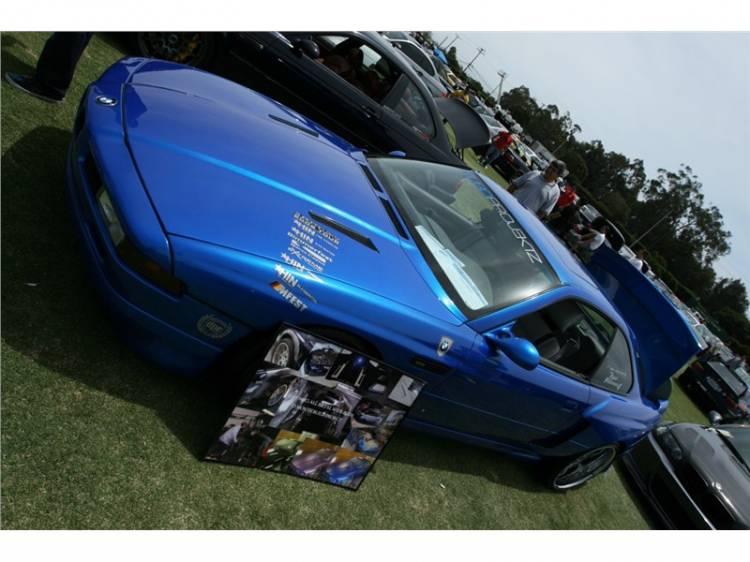 Lambo Monterey Blue BMW 840ci