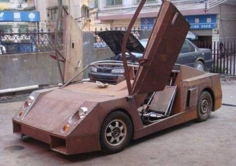 Réplica de Lamborghini