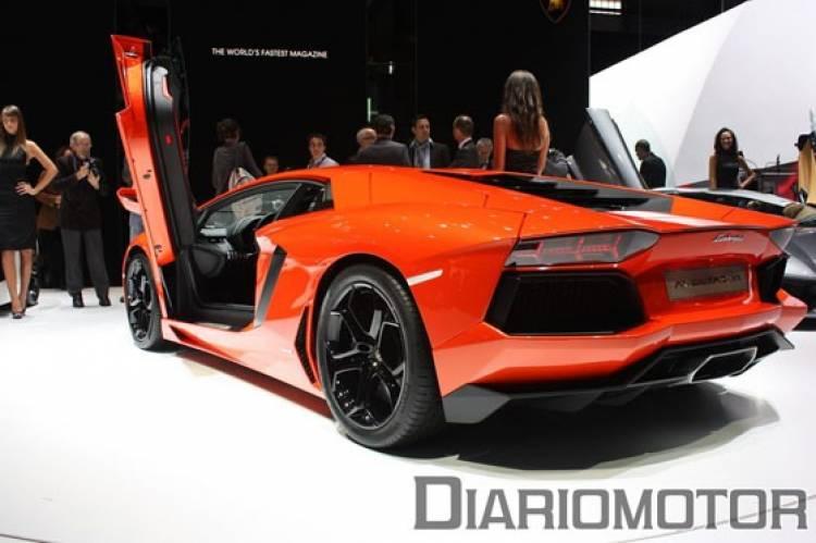 Lamborghini Aventador LP700-4, impresiones en Ginebra