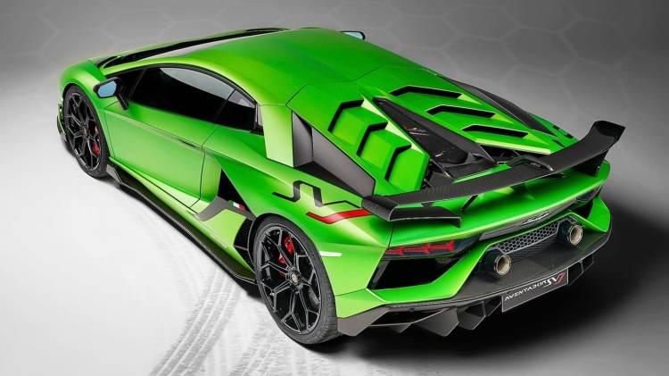 Lamborghini Aventador Svj 0818 005