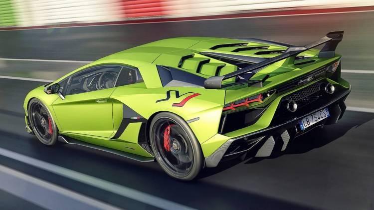 Lamborghini Aventador Svj 0818 007