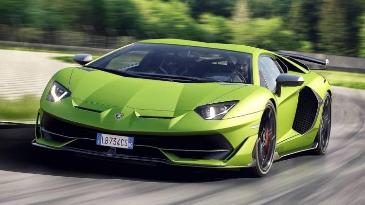 Lamborghini Aventador Svj 0818 009