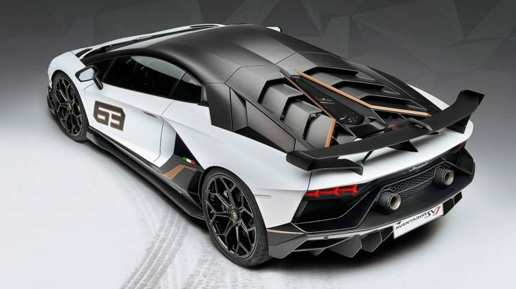 Lamborghini Aventador Svj 0818 012