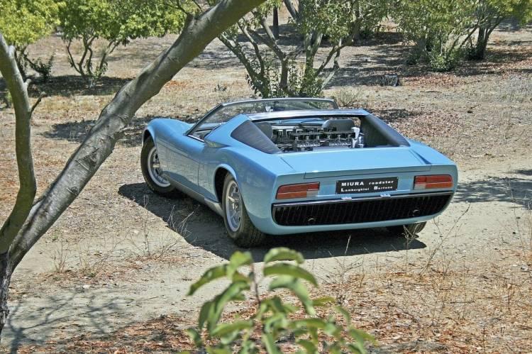 Lamborghini Bertone Miura Spyder