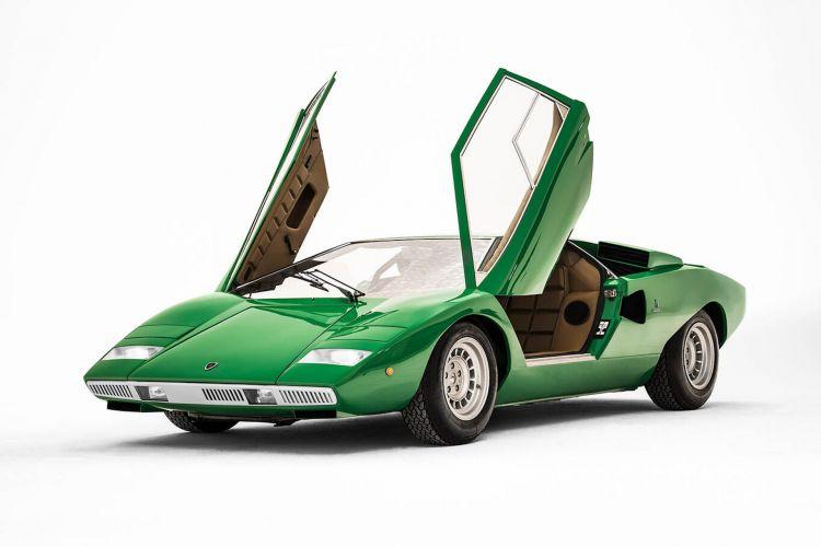 Lamborghini Countach Historia Nombre 1