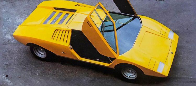 Lamborghini Countach Historia Nombre 3