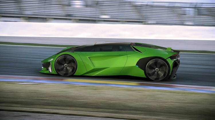 Lamborghini Hibrido Coche Concept 11
