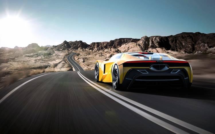 Lamborghini Hibrido Coche Concept 12