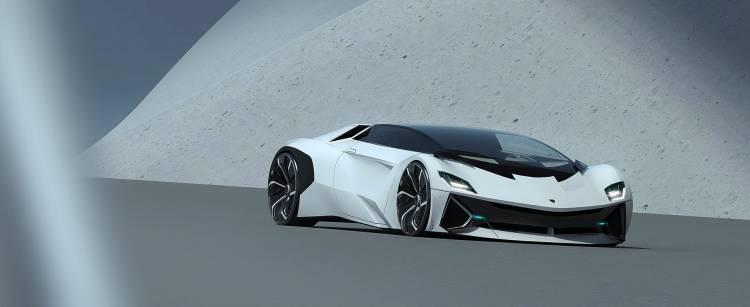Lamborghini Hibrido Coche Concept 6
