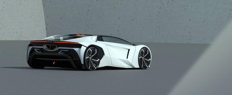 Lamborghini Hibrido Coche Concept 7