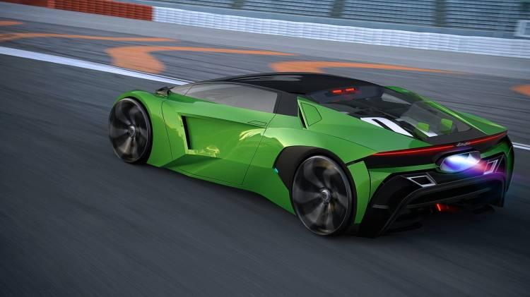Lamborghini Hibrido Coche Concept 9