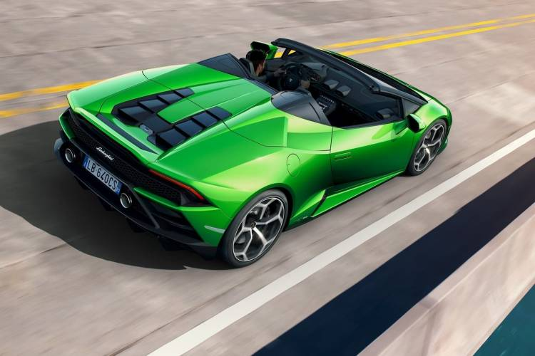 Lamborghini Huracan Evo Spyder 0219 009