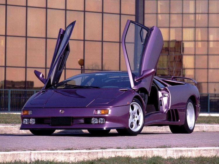 Lamborghini Idablo Morado Anos 90