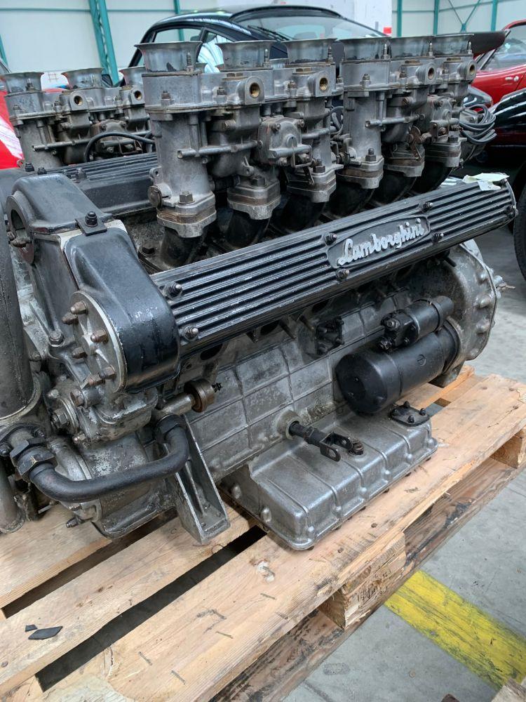 Lamborghini Miura P400 Engine 1967 6