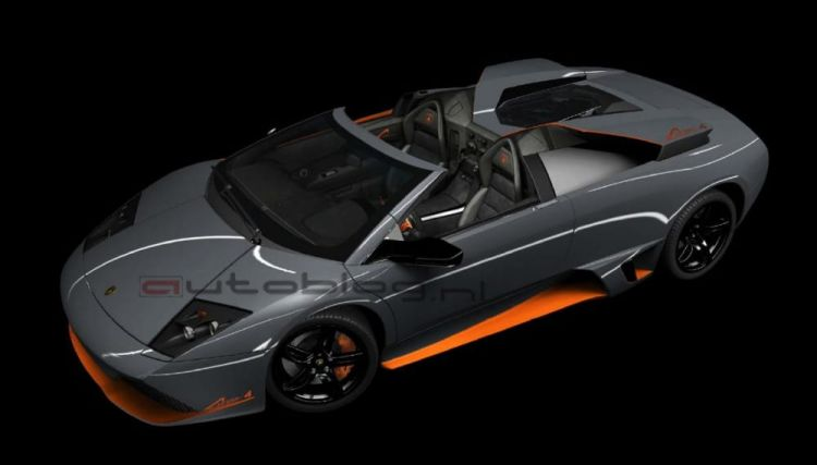 Lamborghini Murciélago LP 650-4 Roadster, primera imagen filtrada