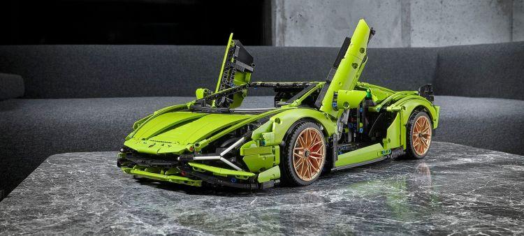 Lamborghini Sian Lego P