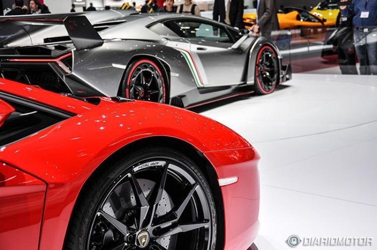 Lamborghini en París 2014
