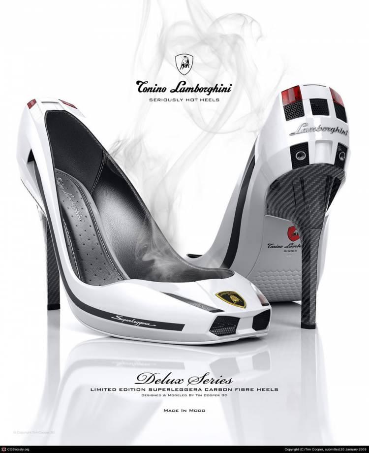 Zapatos de tacón by Lamborghini