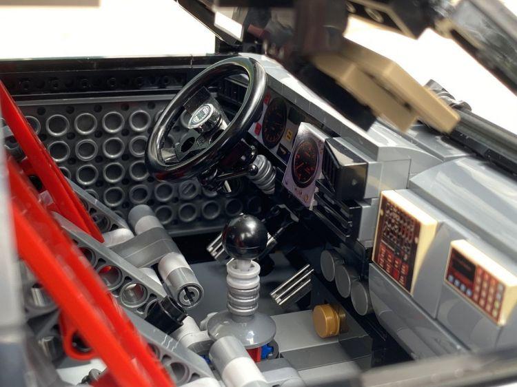 Lancia Delta Integrale Lego 7