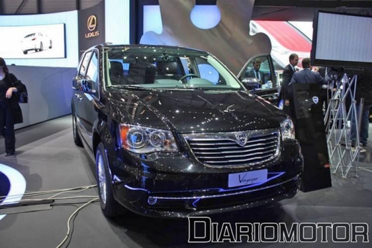 Lancia Thema en el Salón de Ginebra 2011