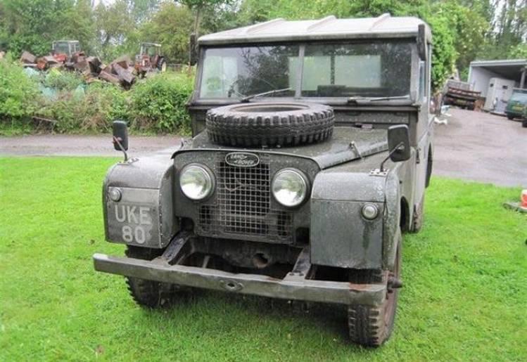 A subasta el Land Rover Series 1 de Winston Churchill