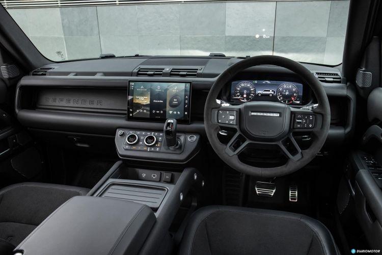 Land Rover Defender 110 V8 Interior  00006