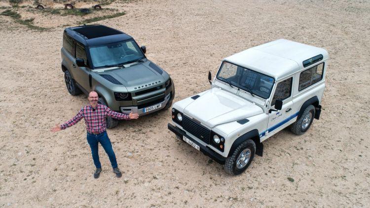 Land Rover Defender 90 Clasico Vs Nuevo Portada