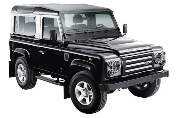 Land Rover Defender Black Edition