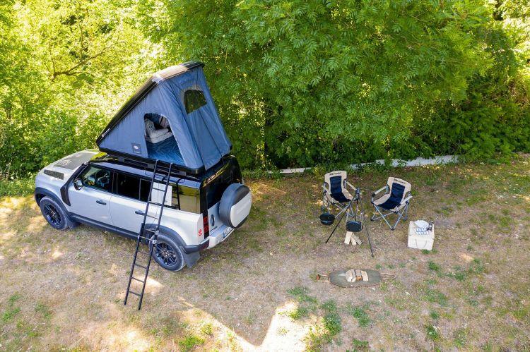 Land Rover Defender Camperizada Tienda Campana 04