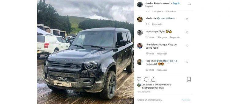 Land Rover Defender Filtrado P