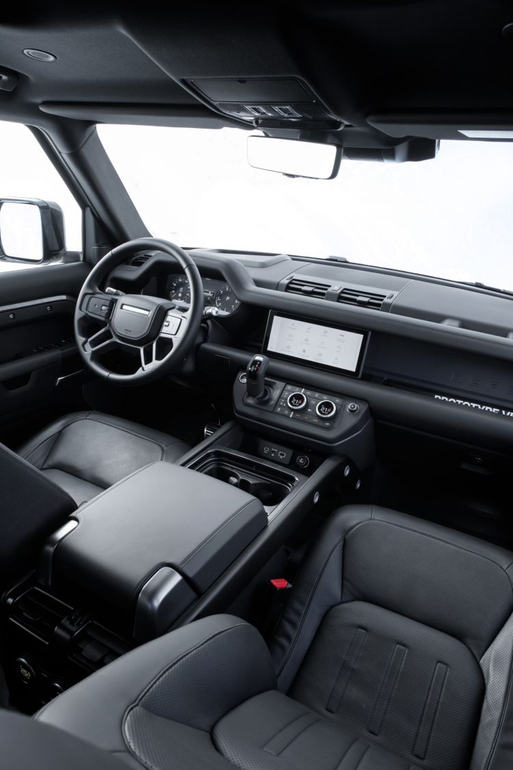 Land Rover Defender Interior 00019