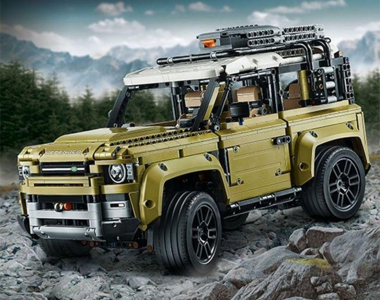 Land Rover Defender Lego Adelanto 2