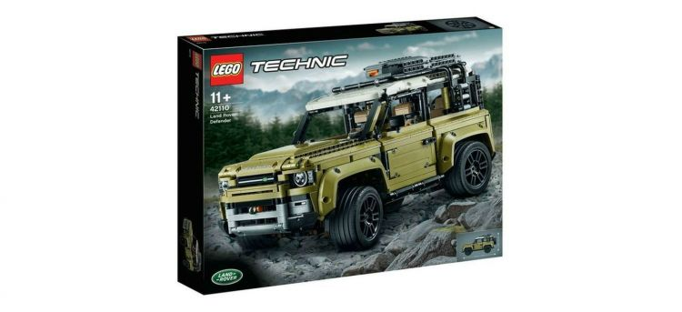 Land Rover Defender Lego Adelanto P