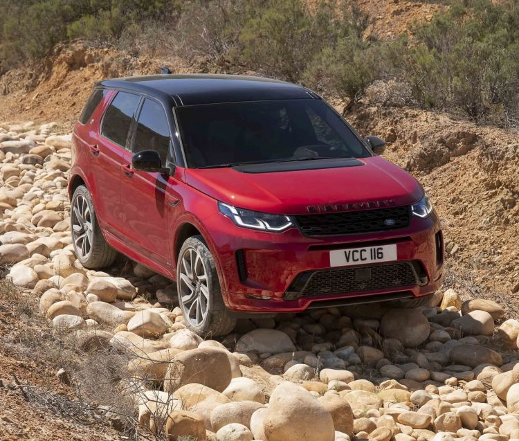 Land Rover Discovery Sport 2020 0519 006