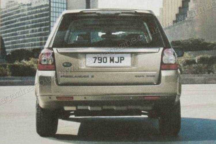 Land Rover Freelander 2011, filtrado folleto