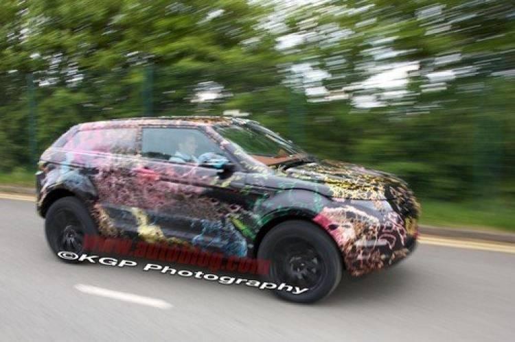 Primeras imágenes espía del Land Rover LRX